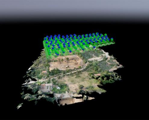 Photogrammetrie en drone en Corse